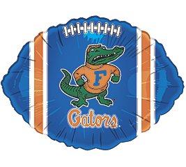 6 Official NCAA Florida Gator Foil Balloons For Team Spirit And - Balloon Gator