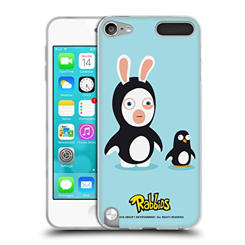 Official Rabbids Penguin Costumes Soft Gel Case for Apple iPod Touch 5G 5th Gen