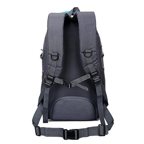 LINGE-Mochila mochila de viaje mochila al aire libre 30L deportes hombres y mujeres de senderismo , orange Blue
