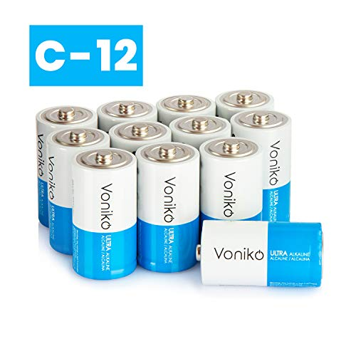 VONIKO Ultra Alkaline 12 C Batteries 12 Pack - Size for sale  Delivered anywhere in USA