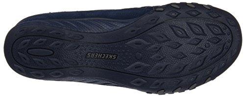 Navy Fit Relaxed Moneybag Blue Sneaker Easy Breathe Skechers Women's zw8xUU