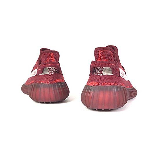 HongYo 350 V2 Turnschuhe Männer Frauen Atmungsaktives Mesh Sport Laufschuhe Alle Serien Keep Updating Claret Sneaker