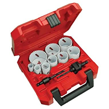 Milwaukee 49-22-4025 13 Piece General Purpose Ice Hardened Hole Saw Kit