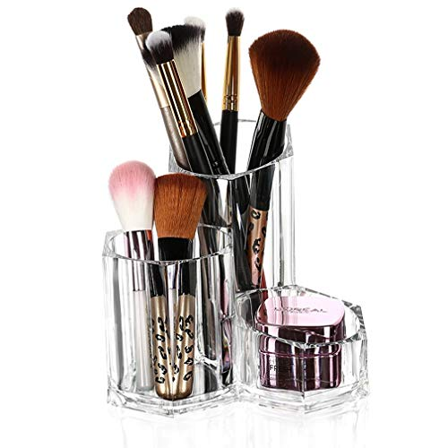 - Make Up Organiser Beauty Makeup Holder Organization Container Storage for Tall Lip Gloss/Lipstick Products