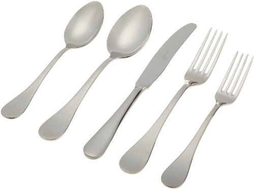 - Herdmar Rocco 18/10 Stainless Steel 5-Piece Place Setting