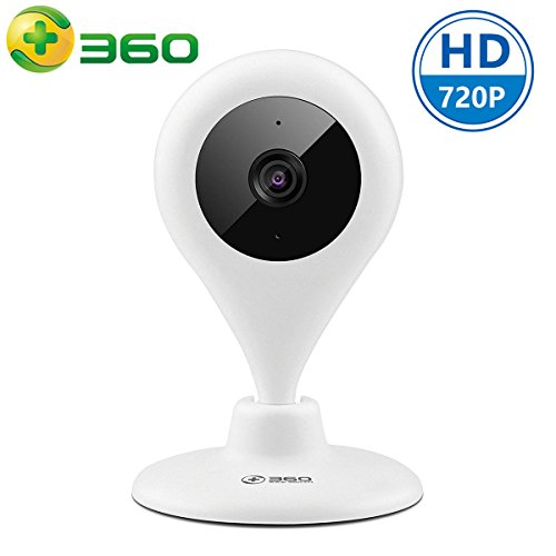 360 Smart Wireless WiFi Security IP Camera 720P Home Surveillance Baby Monitor System With Night Vision Two Way Audio