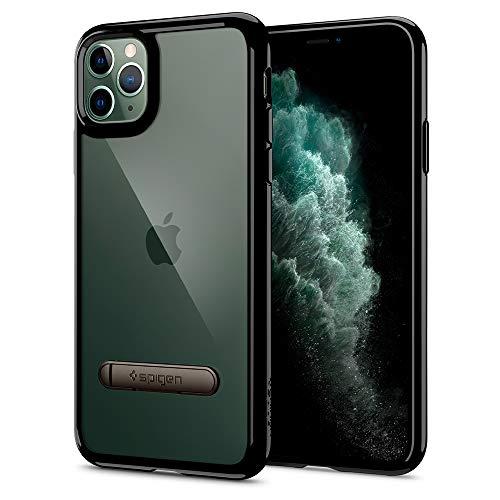 Spigen Ultra Hybrid S Designed for Apple iPhone 11 Pro Max Case (2019) - Jet Black