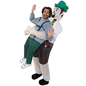 Pick Me Up Inflatable Costume – Great Illusion Fancy Dress Outfit One Size fits Most