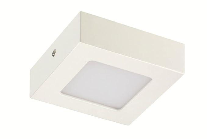 Plafoniere Con Lampade A Risparmio Energetico : Lampada da soffitto led plafoniera belina square colore