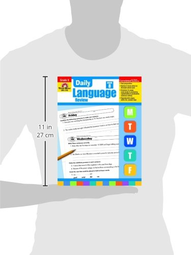 Daily Language Review, Grade 8 by Evan-Moor Educational Publishers