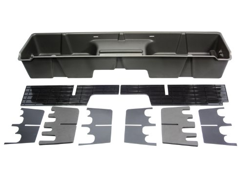- DU-HA Under Seat Storage Fits 99-07 Chevrolet/GMC Silverado/Sierra Extended Cab, Dk Gray, Part #10001