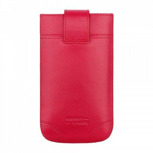 SlimCase Dublin Leder Tasche Case rot von bugatti passend für Apple iPhone 1.0