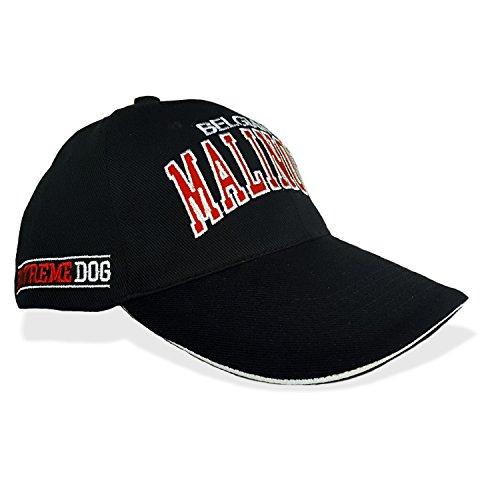Siviwonder - Gorra de béisbol - para hombre rojo negro Talla única
