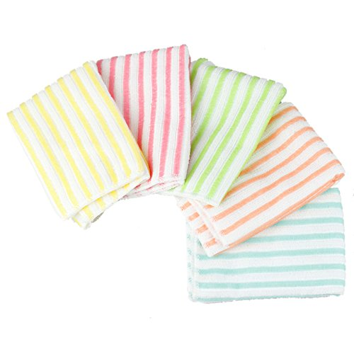 new-microfiber-dish-towel-stripe-wash-cloth-cleaning-cloth-towel