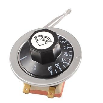 Controlo DealMux 125V / 250 V CA 16A 30-110C Temperatura capilar termostato