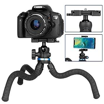 ETbotu ULANZI Octopus - Trípode Flexible para cámaras Digitales ...