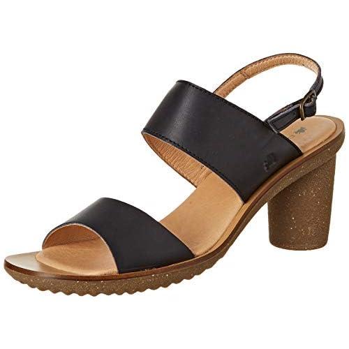 chollos oferta descuentos barato El Naturalista Trivia Zapatos de tacón con Punta Cerrada Mujer Negro Black Black 40 EU