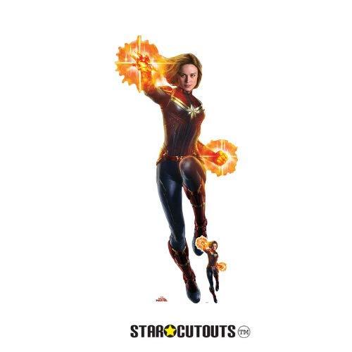 Star Cutouts SC1302 Captain Marvel Lifesize Cutout with