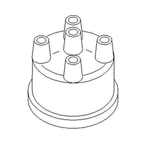 Amazon Com A44429 New Prestolite Distributor Cap Made For Case Ih