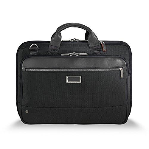 Briggs & Riley @work Slim Briefcase, Black ()