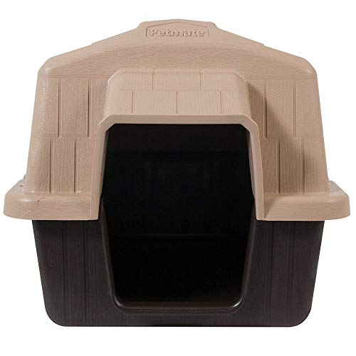 Aspen Pet Petbarn Dog House Snow and Rain Diverting Roof Raised Floor No-Tool Assembly 4