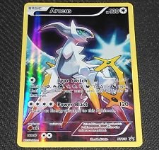 Arceus Full Art Foil Black Star Promo XY116