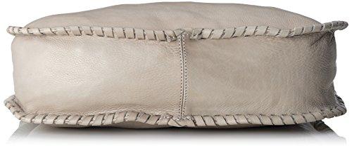 Amsterdam Cowboys Bag Orford, Borsa con Maniglia Donna Grigio (Grau (Light Grey 150))
