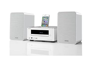 onkyo mini stereo system. onkyo cs-245dab cd hi-fi mini system - white stereo n