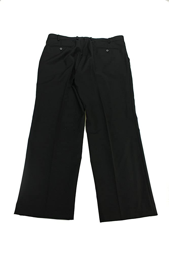 Alfani Mens Black Slim Fit Dress Pants W-L