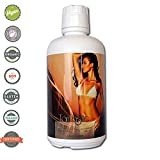 Tanfastic E Blend Darkest 12.5% DHA Sunless Airbrush Spray Tanning Solution 32 oz