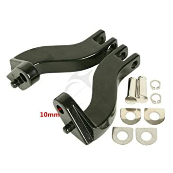 TCMT Streamliner Foot Pegs Pedals Bracket Fit For Harley Touring Road Electra Glide 1993-2020