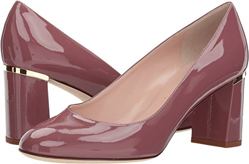 kate spade new york Women's Alamar Pump, Red, 6.5 Medium (Kate Spade Patent Leather Shoes)