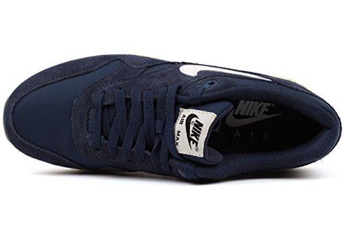 Nike Heren Air Max 1 Van Essentieel Belang, Midnight Marine / Sail-zwart Middernacht Marine, Zeil-black-black