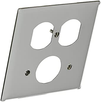 hubbell wiring systems ss78 302 304 stainless steel combination wall hubbell wiring systems ss78 302 304 stainless steel combination wall plate 2 gang