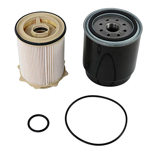 for dodge 6 7l cummins fuel filter water separator set for. Black Bedroom Furniture Sets. Home Design Ideas