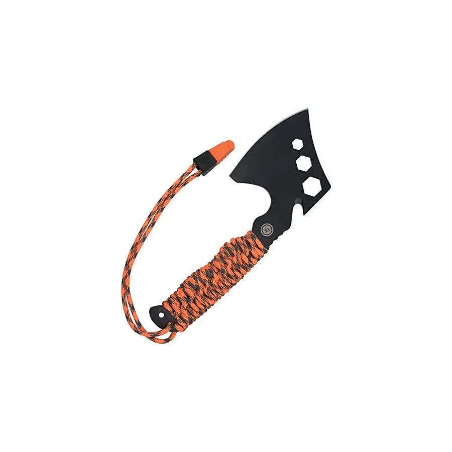 UST ParaHatchet PRO with Hex Wrenches, ParaTinder Utility Cord, Fire Starter, Bottle Opener/Rope Cutter and Emergency Whistle for Hiking, Backpacking, Camping and Outdoor Survival