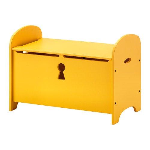 Ikea TROGEN - Banco de Almacenamiento, Amarillo - 70x39x50 ...