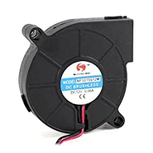 Water & Wood MF5015S12M 50mmx15mm 2Pin DC 12V 0.06A Brushless Blower Cooling Fan