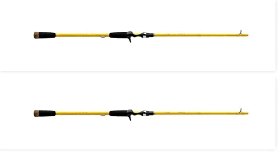 Amazon.com : Wright & McGill (2) Skeet Reese 7' Medium S-Glass Cranking Rods WMSSRCB70C New : Sports & Outdoors
