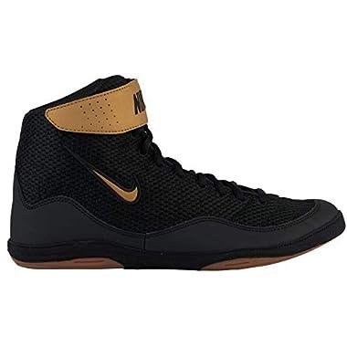 best service 33083 2b860 Nike Men s Inflict 3 Wrestling Shoes (Black Black, ...