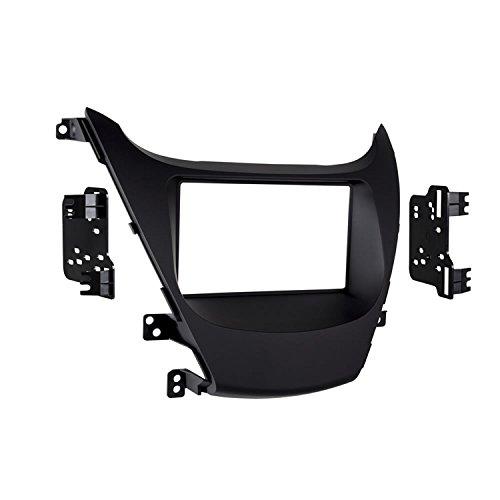 Metra 95-7362B Double DIN Dash Kit for Select 2014- Hyundai Elantra Vehicles (Black)