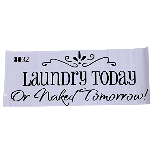 TOOGOO Laundry Tomorrow Removable Sticker product image