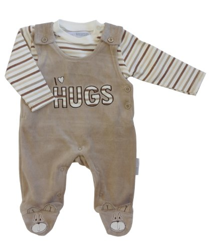 Nursery Time Boys I Love Hugs Dungaree & Tee Set
