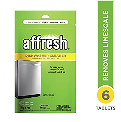 Affresh W10282479 Dishwasher Cleaner, 1 Pack from Whirlpool