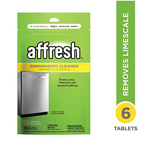 Affresh W10282479 Dishwasher Cleaner, 1 Pack
