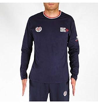 PADEL REVOLUTION - Camiseta Man Montecarlo Manga Larga, Color Azul Talla XXL (Azul, XXL): Amazon.es: Deportes y aire libre