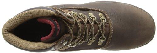 Lobezno Cabor de hombres impermeable para botas de trabajo Marrón
