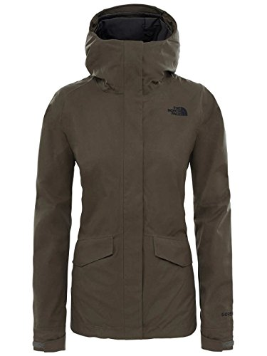 The North New Taupe in Face Jacket Green All L Terrain Zip dBroeWCx