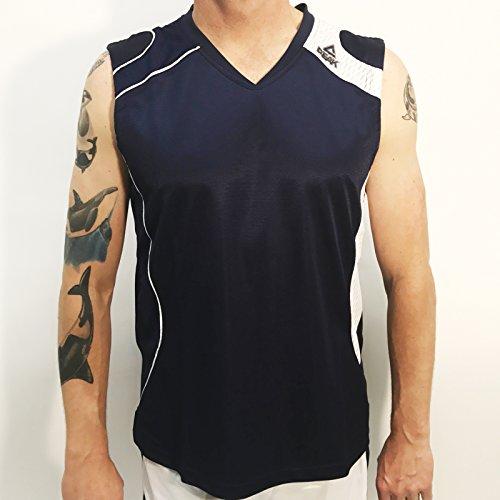Jersey D Wade (Peak Men's Match Basketball Jersey, Navy, Medium)
