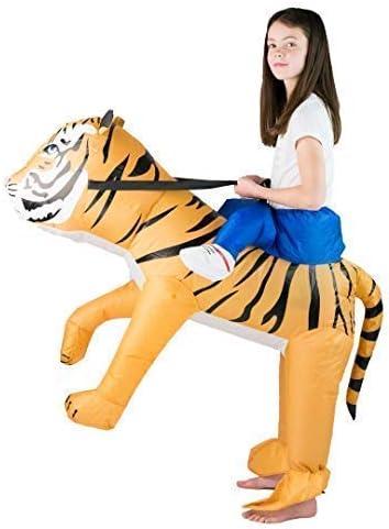 Bodysocks/® Costume Gonfiabile da Tigre per Bambini